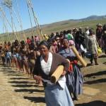01 Iintombi of KwaBhaca Kingdom at Umkhosi wokukhahlela 2012