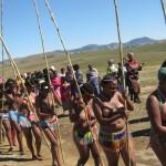 03 Iintombi of KwaBhaca Kingdom at Umkhosi wokukhahlela 2012 - iintfombi takwaBhaca