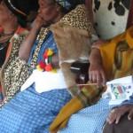 Iintombi of KwaBhaca Kingdom at Umkhosi wokukhahlela 2012 - Indlovukati, Queen Nosive