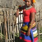 Iintombi of KwaBhaca Kingdom at Umkhosi wokukhahlela 2012 - Princess Yonela Diko