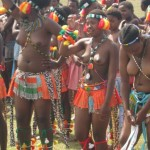Iintombi of KwaBhaca Kingdom at Umkhosi wokukhahlela 2012 - amamboza2