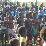 Iintombi of KwaBhaca Kingdom at Umkhosi wokukhahlela 2012 - bhaca kids