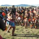 Iintombi of KwaBhaca Kingdom at Umkhosi wokukhahlela 2012 - kwakuhle