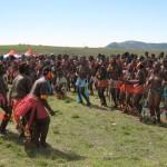 Iintombi of KwaBhaca Kingdom at Umkhosi wokukhahlela 2012 - sina