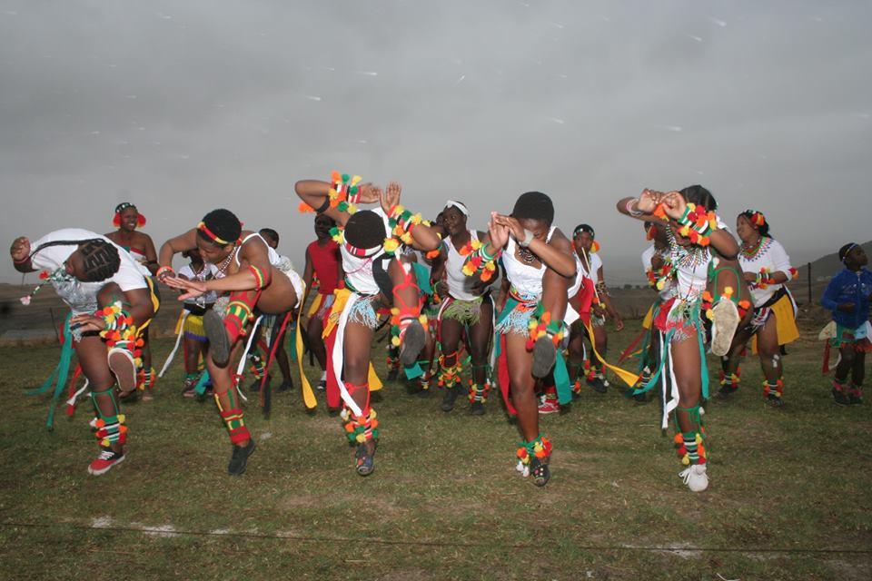 Umkhosi wokukhahlela – Bhaca Royal Reed ceremony – Elundzini Royal Residence, KwaBhaca (13) – Bhaca Maidens