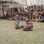 Umkhosi wokukhahlela - Bhaca Royal Reed ceremony - Elundzini Royal Residence, KwaBhaca - Bhaca Maidens